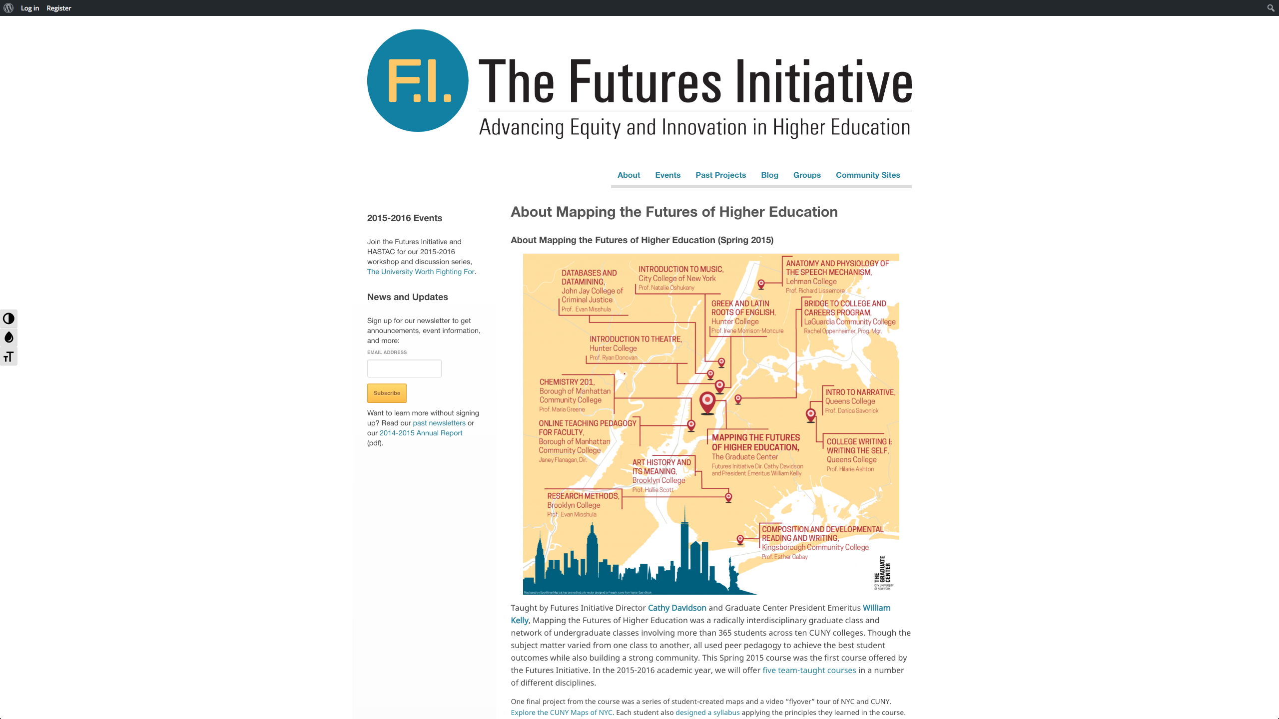 Mapping the Futures of Higher Education
